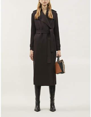 Harris Wharf London Waterfall pressed-wool trench coat
