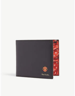 Paul Smith Manchester united leather wallet