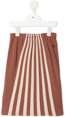 Bobo Choses Stripe Print Skirt