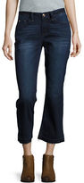Kensie Jeans Flared Cropped Jeans