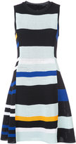 Proenza Schouler sleeveless perforated dress - women - Silk/Cotton/Polyester/Viscose - S