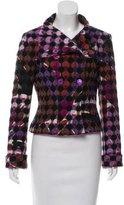 Emilio Pucci Patterned Wool Blazer