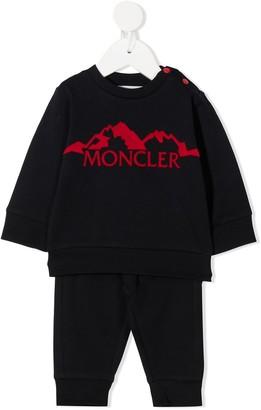 Moncler Enfant Two-Piece Logo Sweatshirt & Trousers Set