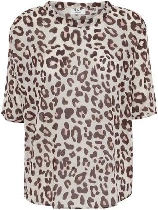DAY Birger et Mikkelsen Mio Leopard Print Blouse - Multi / XS