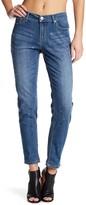 Seven7 Rhinestone Girlfriend Jeans