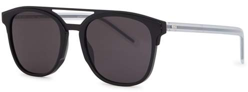 Christian Dior Black Tie 211s Square-frame Sunglasses
