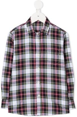 Il Gufo Check Print Shirt
