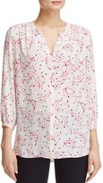 NYDJ Button Front Blouse