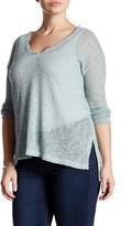 Lush Lightweight Hacci Sweater (Plus Size)