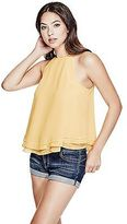 GUESS Women's Elodie High Halter Top