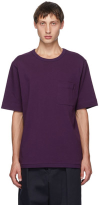 Dries Van Noten Purple Thick T-Shirt