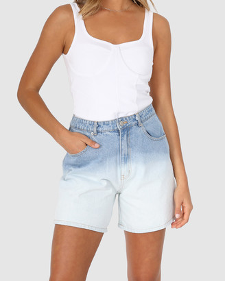 BY.DYLN - Women's Denim - Billie Shorts - Size One Size, XS at The Iconic