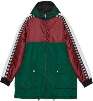 Gucci GG jacquard nylon jacket