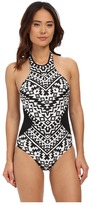 Seafolly Kasbah High Neck Maillot