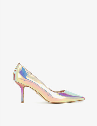 Dune Andrie pointed-toe leather court