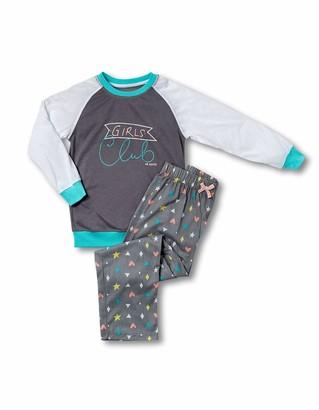 Joe Boxer girls Girl's Club Tee/ Pant Pajama Sets