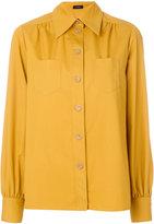 Joseph patch pocket blouse