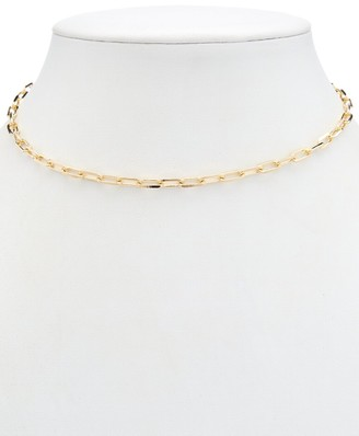 Alanna Bess Limited Collection 14K Over Silver Choker Necklace