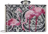 Judith Leiber Flamingo Clutch Bag