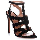 Alaia Black suede sandal