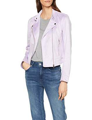 Tom Tailor Women's Kunstlederjacke im Wildlederlook Jacket