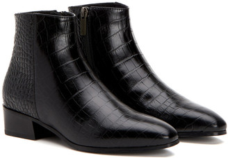 Aquatalia Fuoco Weatherproof Leather Bootie