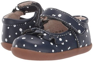 See Kai Run Kids Belle II (Infant/Toddler) (Navy Snowflakes) Girls Shoes