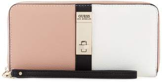 GUESS Large Asher Zip-Around Wallet