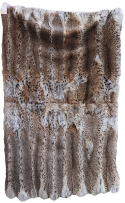 Fendi \N Brown Fur Textiles