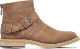 Belstaff Trialmaster Suede Crepe Ankle Boots