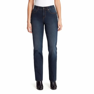 Gloria Vanderbilt Women's Plus Size Revolution Solution Straight Leg Jean