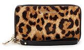 MICHAEL Michael Kors Leopard-Print Haircalf Large Multifunction Phone Wallet