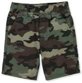 Levi's Little Boys' Twill Shorts - olive camo, 5