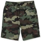 Levi's Little Boys' Twill Shorts - olive camo, 7x