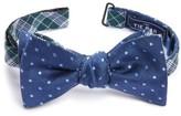 The Tie Bar Men's Emerson Reversible Silk Bow Tie