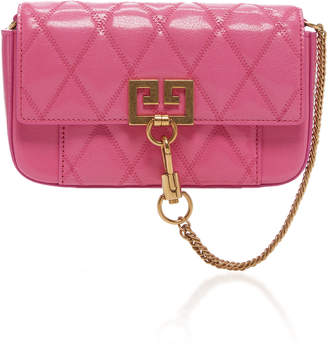 Givenchy Pocket Mini Quilted Leather Clutch