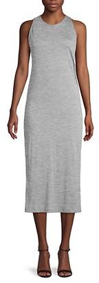 Vince Sleeveless Cotton Shift Dress