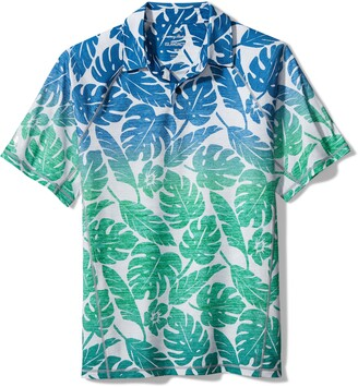 Tommy Bahama Ombre Hideaway Short Sleeve Performance Polo Shirt