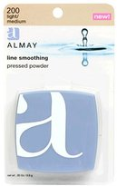 Almay Line Smoothing Pressed Powder, Light/Medium 200, 0.35-Ounce Package by