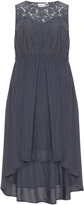 Junarose Plus Size Lace accent dress
