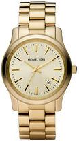 Michael Kors Ladies' Goldtone Stainless Steel Watch