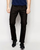 G Star G-Star Jeans Revend Straight Fit Stretch Raw Black