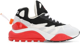 F Wd 50mm Bicolor Nylon & Mesh Sneakers