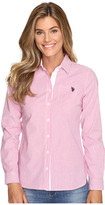 U.S. Polo Assn. Long Sleeve Vertical Stripe Shirt