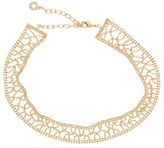 Anne Klein Crochet Chain Choker Necklace