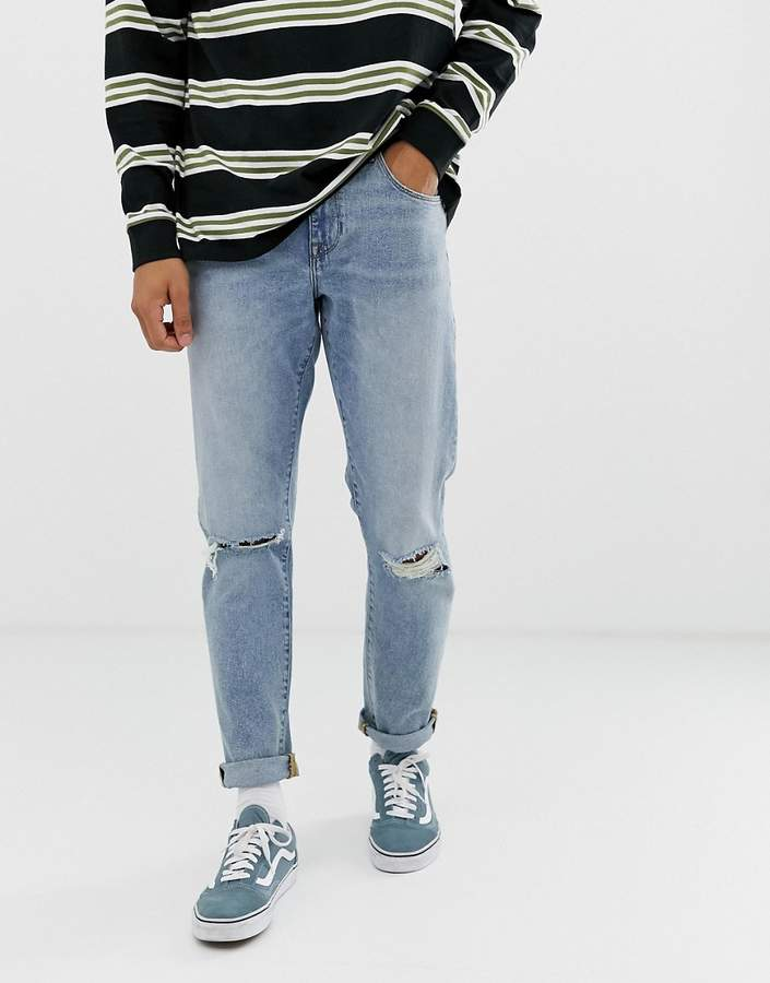 b9018535a88 Vintage Ripped Jeans Mens - ShopStyle