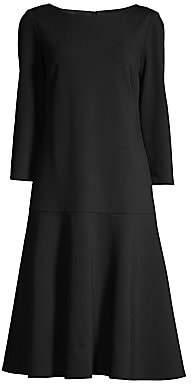 Lafayette 148 New York Women's Martha Drop Waist Dress