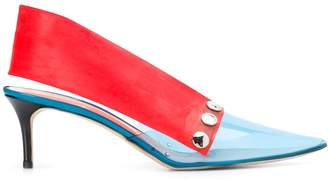 Christopher Kane latex sling back