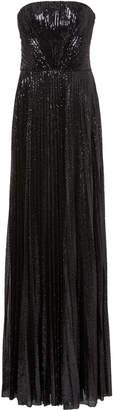 Ralph Lauren Jazzmine Strapless Sequined-Tulle Gown