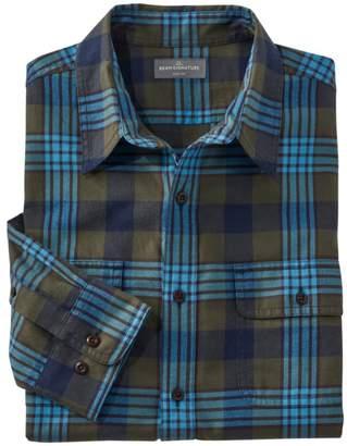 L.L. Bean Men's Signature Castine Flannel Shirt, Plaid